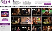 21Prive live dealer casino