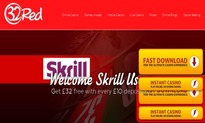 32 Red Casino, Skrill accepted