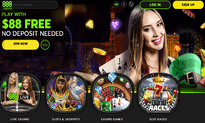 888 Casino website