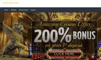 African Palace Casino website