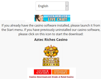 Download/join Aztec Riches