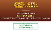 Aztec Riches Casino website