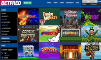 Betfred Casino website