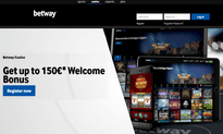 Betway Casino website