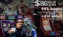 Big Dollar Casino website