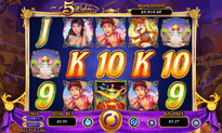 5 Wishes, RTG game at Cherry Jackpot