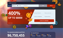 Cherry Jackpot Casino website