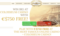 Colosseum Casino website