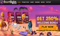 Desert Nights Casino website