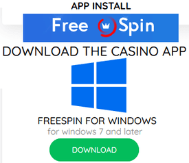 Download Free Spin Casino app