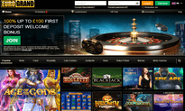 EuroGrand Casino website