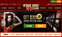 Grande Vegas Casino website