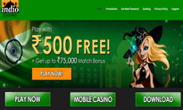Indio Casino website
