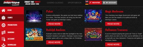 Intertops Casino Download