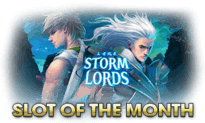 Slot of the month - Storm Lords