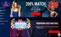 Jackpot Wheel Casino website