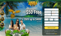 Jumba Bet Casino website