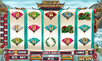 Legend of Singing Fan slot game by WGS