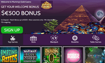 Mummys Gold Casino website