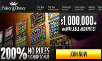 Palace Of Chance Casino website