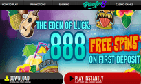 Paradise 8 Casino website