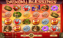 Daikoku Blessings slot