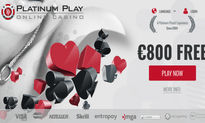 Platinum Play Casino website