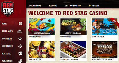 Red Stag casino games