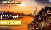 River Belle Casino website