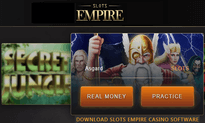 Slots Empire Casino website