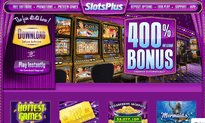 SlotsPlus Casino website