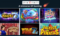 Spinfinity Casino website