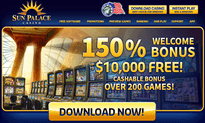 Sun Palace Casino website