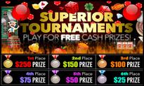 Superior free weekly tournament