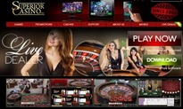 Superior live dealer casino