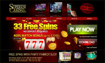 Superior Casino no deposit bonus