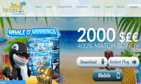 Tropica Casino website
