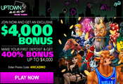 Uptown Aces exclusive VIP bonus