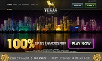 Vegas Paradise Casino website