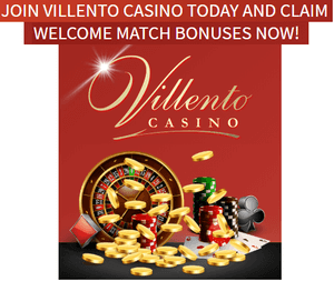 Villento Casino welcome bonuses