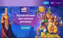 Wild Jackpots Casino website