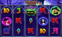 Witchy Wins slot by RTG