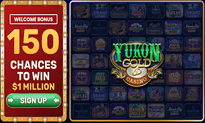 Yukon Gold Casino website