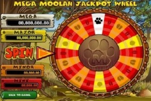 Mega Moolah progressive game